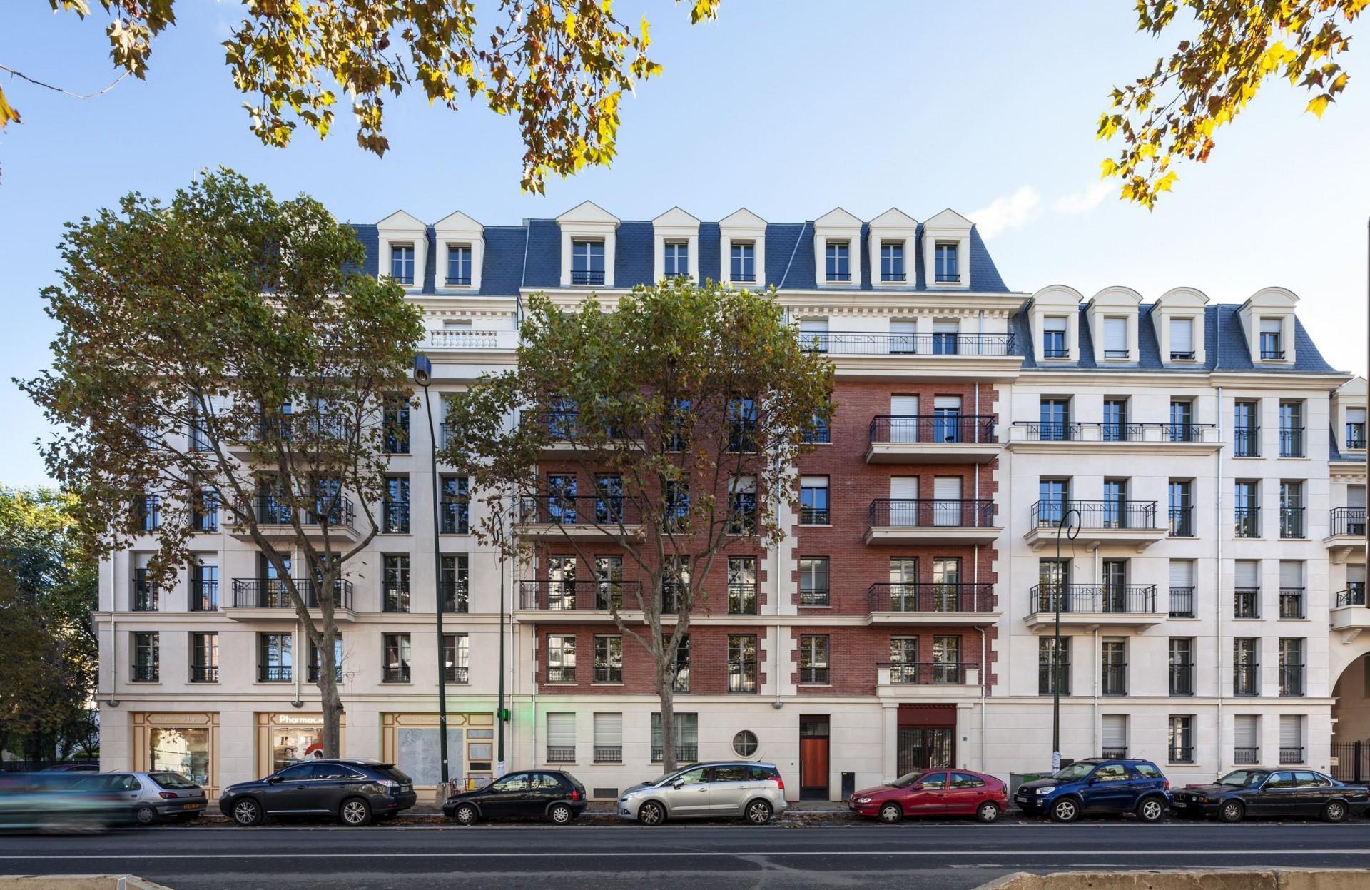 Ensemble immobilier de 87 logements marc farcy for Logement immobilier