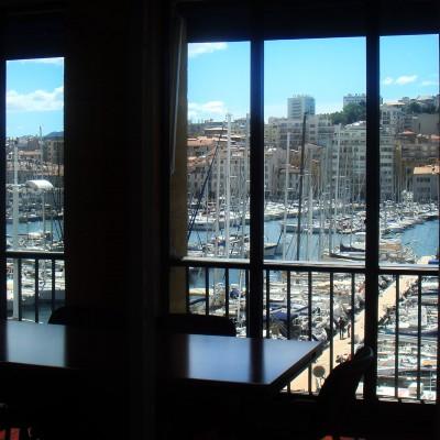 A Marseille nous sommes désormais sur le Vieux-Port !