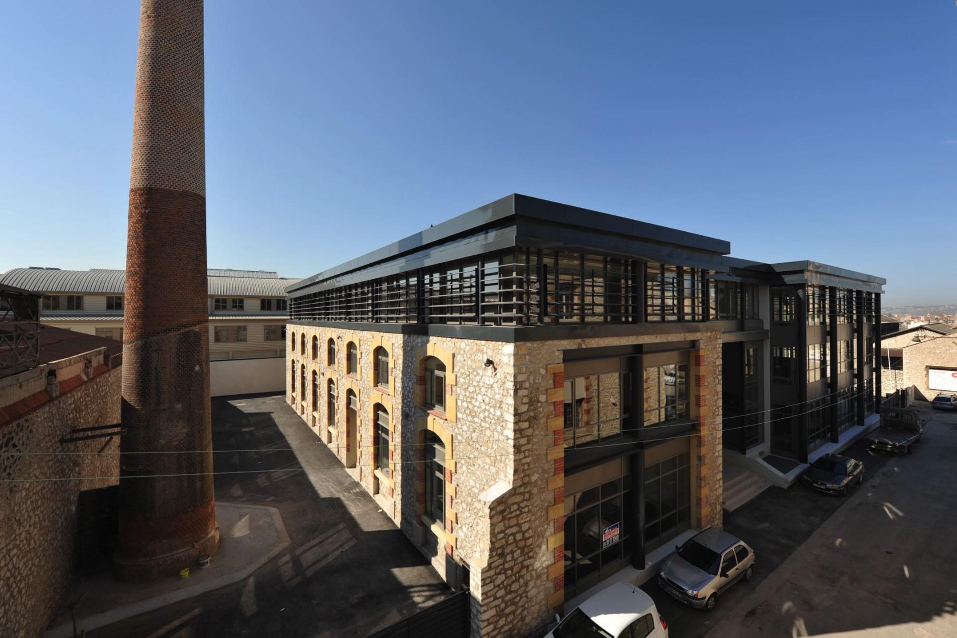 Construction et réhabilitation d'un immeuble de bureaux, Marseille