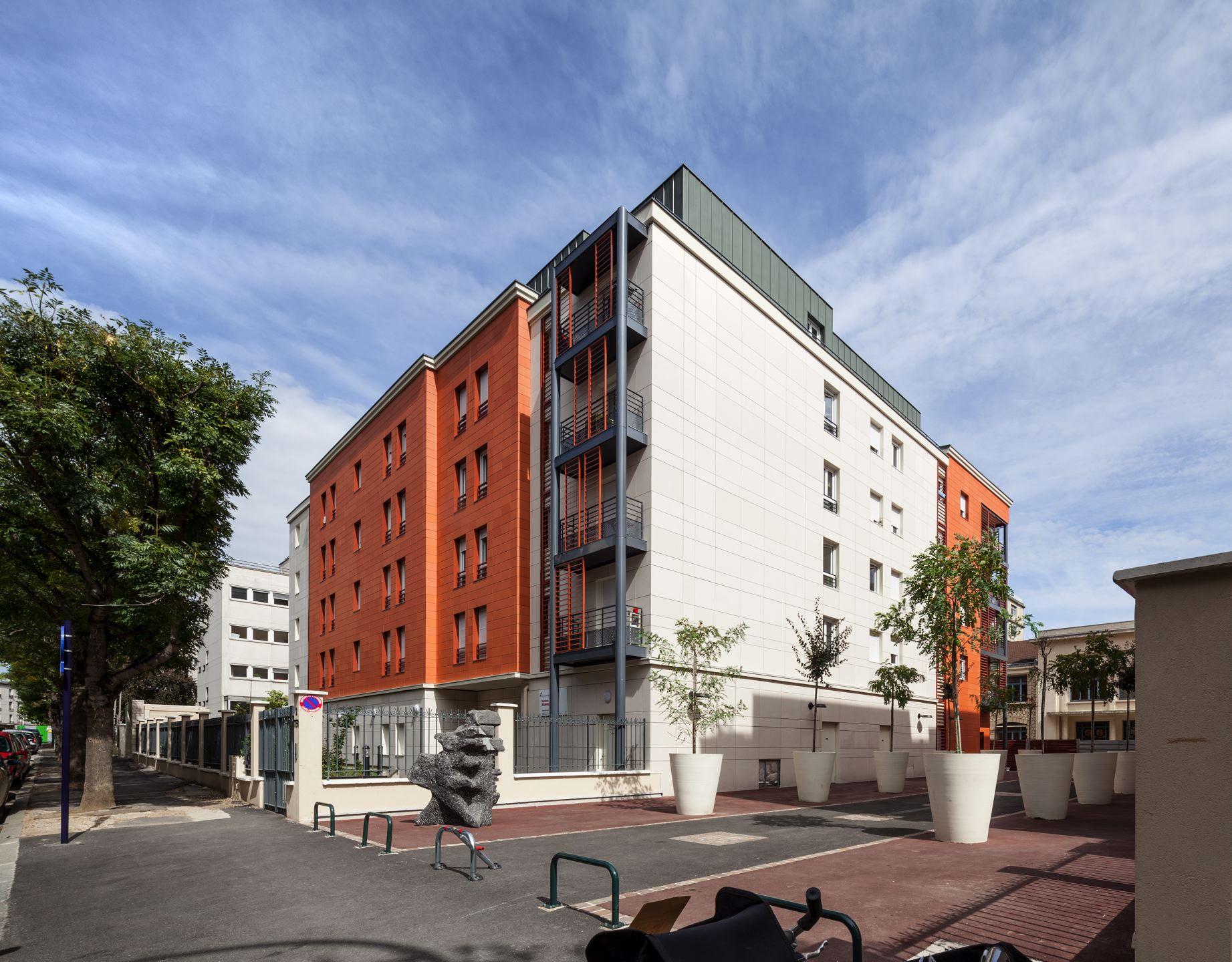 Résidence étudiants de 129 chambres, Saint-Mandé (94)