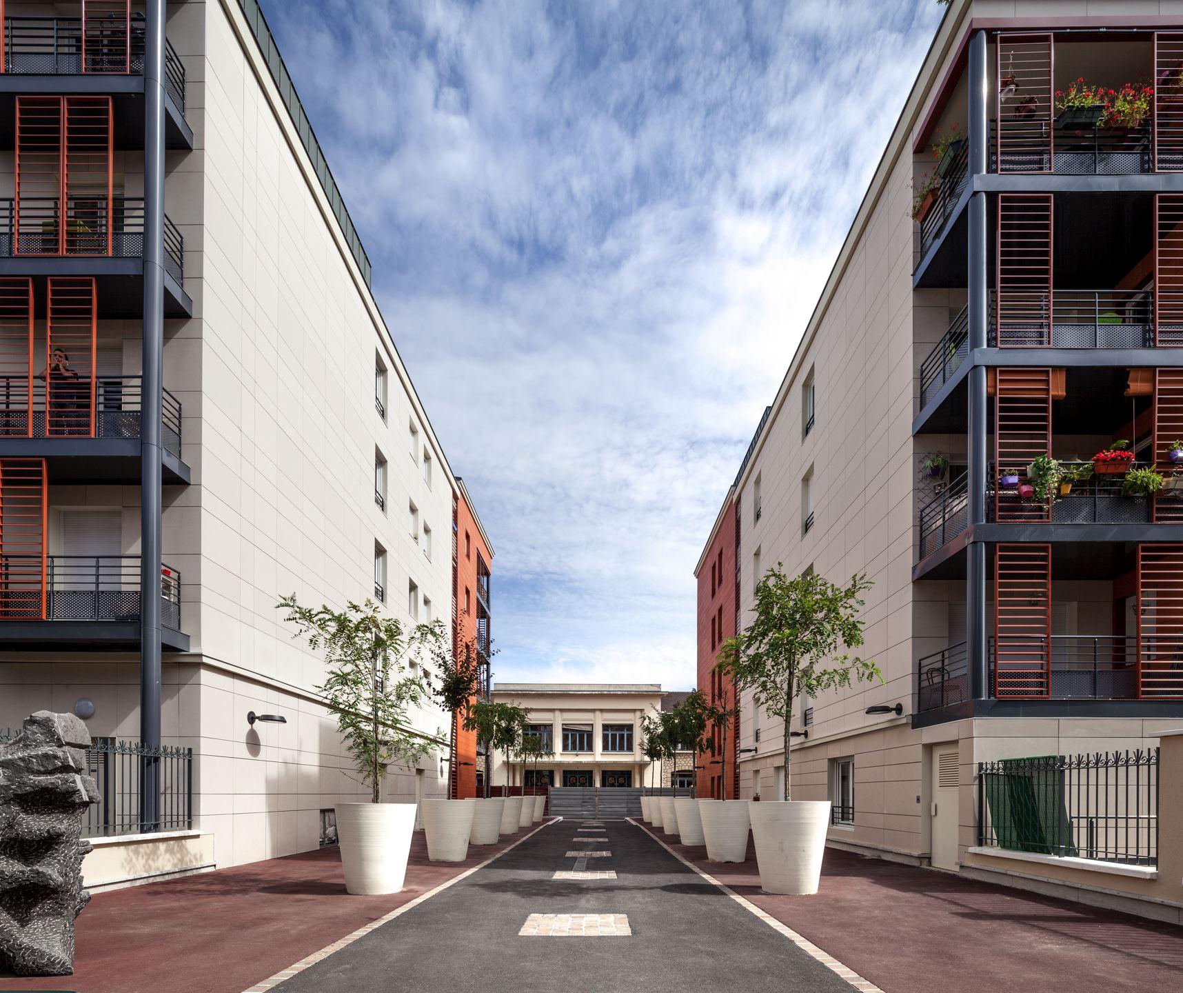Immeuble de 59 logements, Saint-Mandé