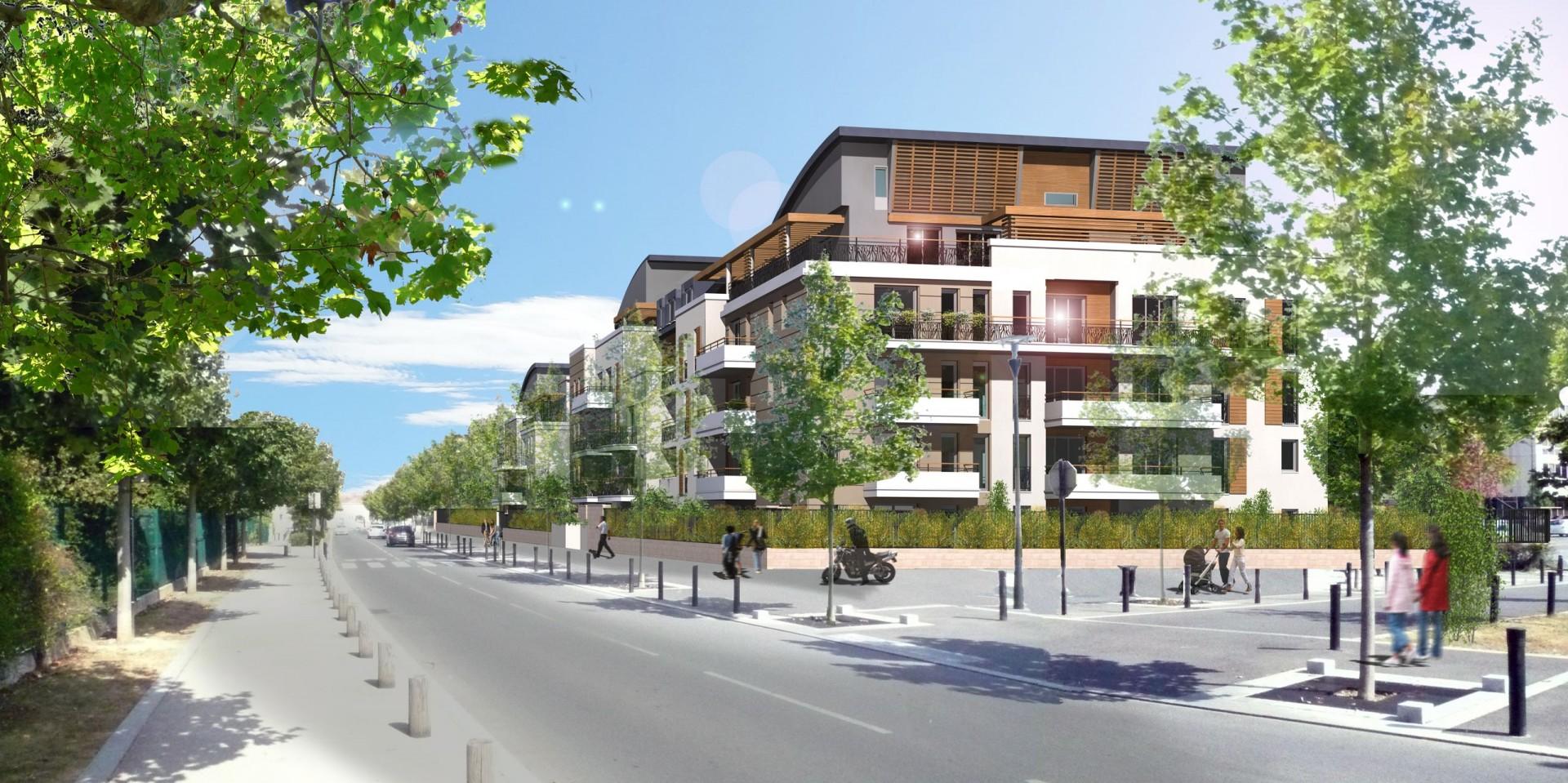 90 Logements à Meaux (77), avenue de la Marne